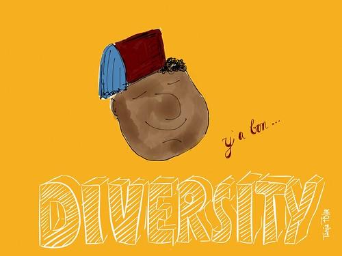 Diversity, y' a bon ... by Tanja FÖHR