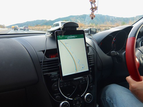 iPad mini in Mazda RX-8