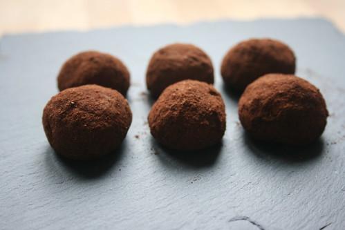 Marzipankartoffeln - baked (marzipan) potatoes by the james kitchen