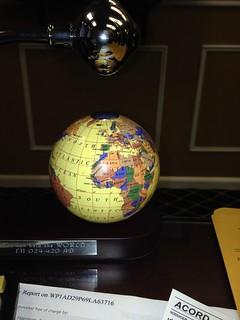 Globe not floating