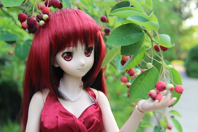 Yoko in Red