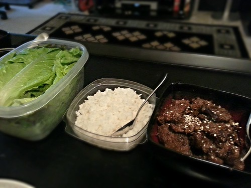 Beef lettuce wraps by pipsyq