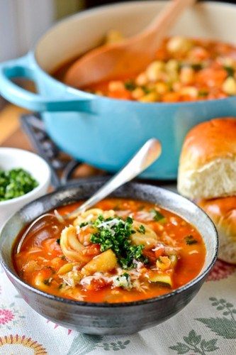 Smokey Minestrone with Tortellini-13