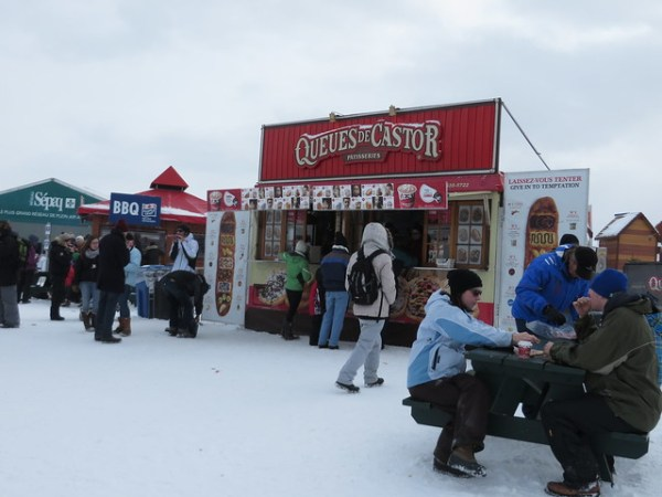 Queues du Castor, Beaver Tails, Quebec Winter Carnival, planning for carnival