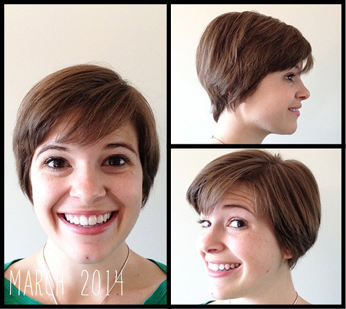 how to style my grown out pixie cut
