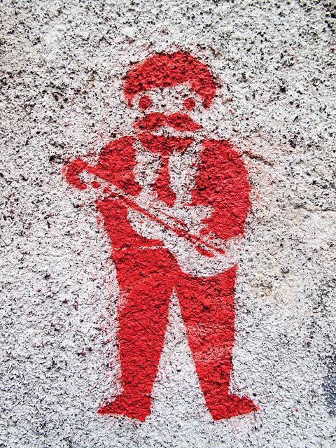 Musician - Stencil