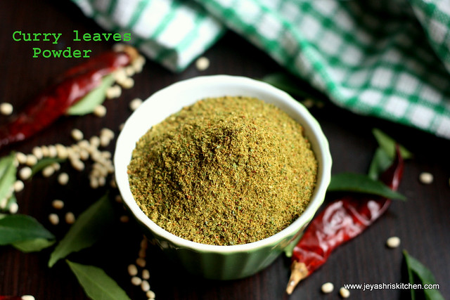 curryleaves powder