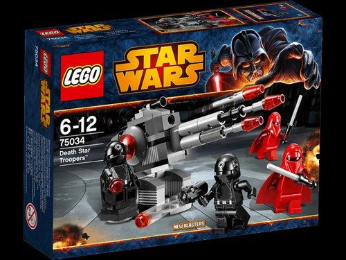 75034 Death Star Troopers and Emperor's Guards Battle Pack