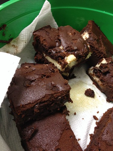 2nd Day of Christmas: Irish Car Bomb Brownies