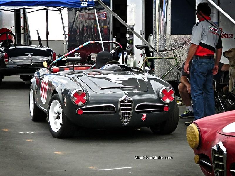Alfa Romeo Giulia Spyder Race Car