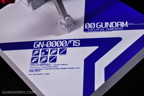 Metal Build 00 Gundam 7 Sword and MB 0 Raiser Review Unboxing (88)