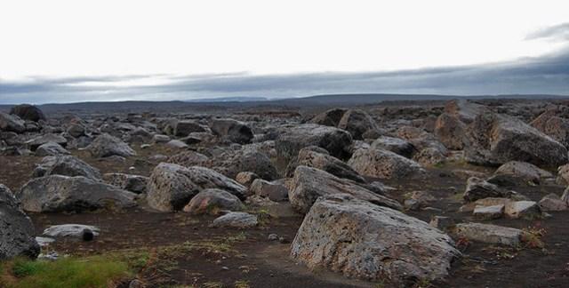 Parque Nacional de Jökulsárgljúfur - Llegando a Dettifoss - CC Roser Martínez