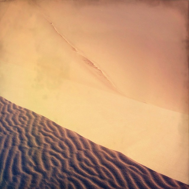 Sand dunes abstraction