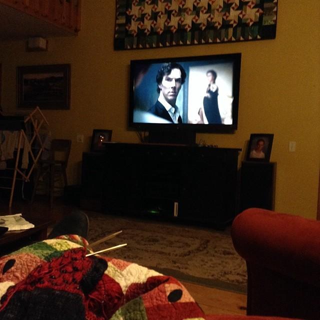January 19, 2014 -- Sherlock lives!