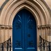 Blue Church Door, Sydney