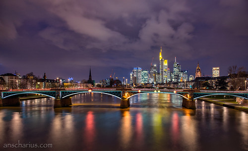 Frankfurt Sundown - Nikon D800E & AF-S 2,8/24-70mm