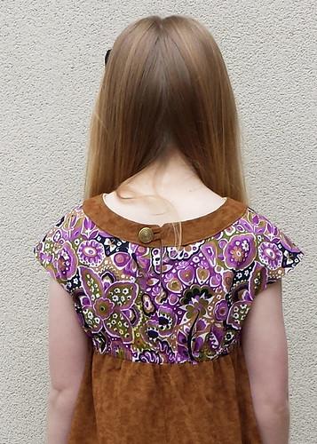 Oliver + S Roller-skate Dress, size 8 for Clare