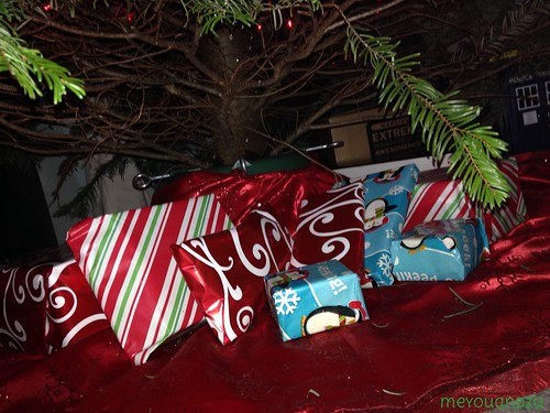 Presents under the tree