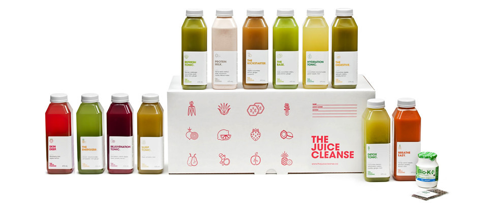 Juice Truck Juice Cleanse