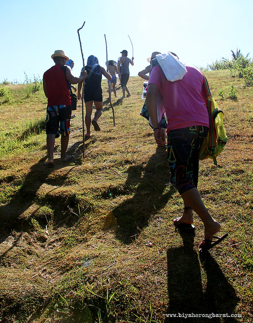 Hiking in Calaguas Island