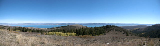 Bear Lake Overview Panorama