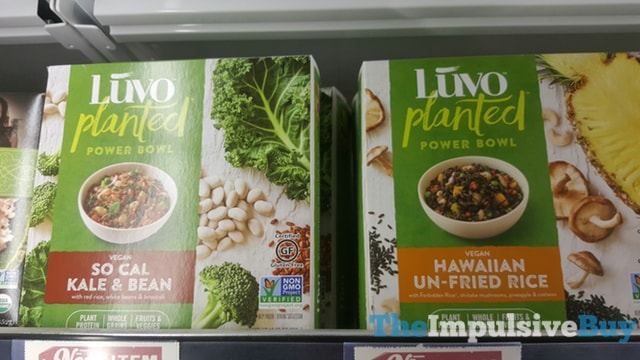 Luvo Planted Power Bowls (So Cal Kale & Bean and Hawaiian Un-Fried Rice)
