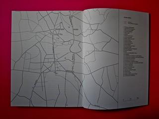 Vincenzo Latromico, Armin Linke, Narciso nelle colonie. Quodlibet Humboldt 2013. Progetto grafico di Pupilla Graphic. Pagine 160 - 161 (part.)