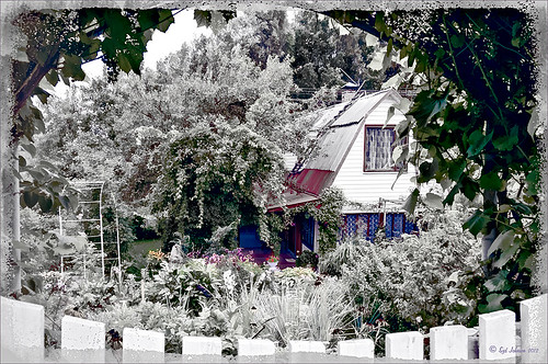 Hidden Dacha in Belarus using Topaz ReStyle filter