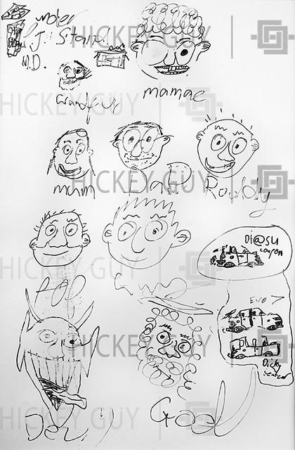 Christmas Whiteboard 2003