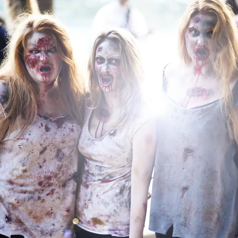 Zombie Walk Doewntown San Diego