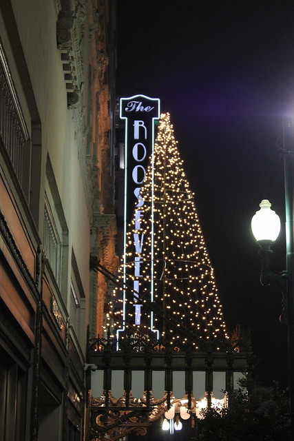 Roosevelt Hotel Gingerbread, New Orleans LA