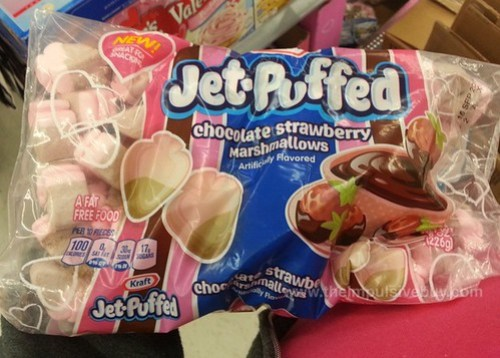 Kraft Jet-Puffed Chocolate Strawberry Marshmallows