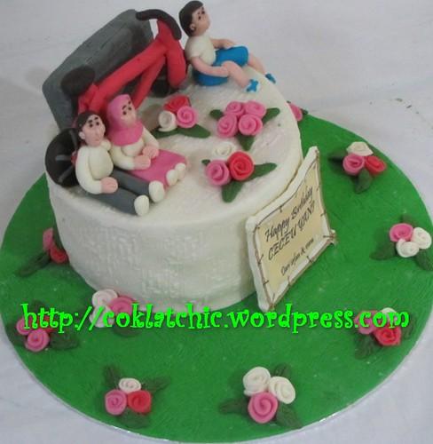 Cake Sepeda