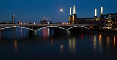 Battersea moonrise