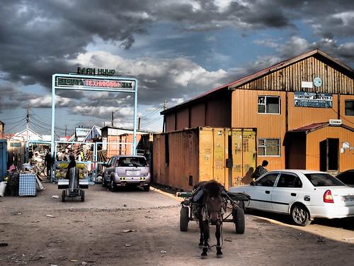 Black market in Mörön