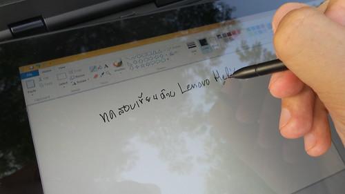 ใช้ Stylus ขีดๆ เขียนๆ บน Lenovo ThinkPad Helix สบายๆ