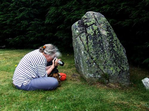 Aviemore stone circle stone 4