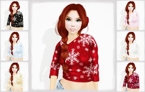 Sakide - Frozen Sweater by Tigist Sapphire
