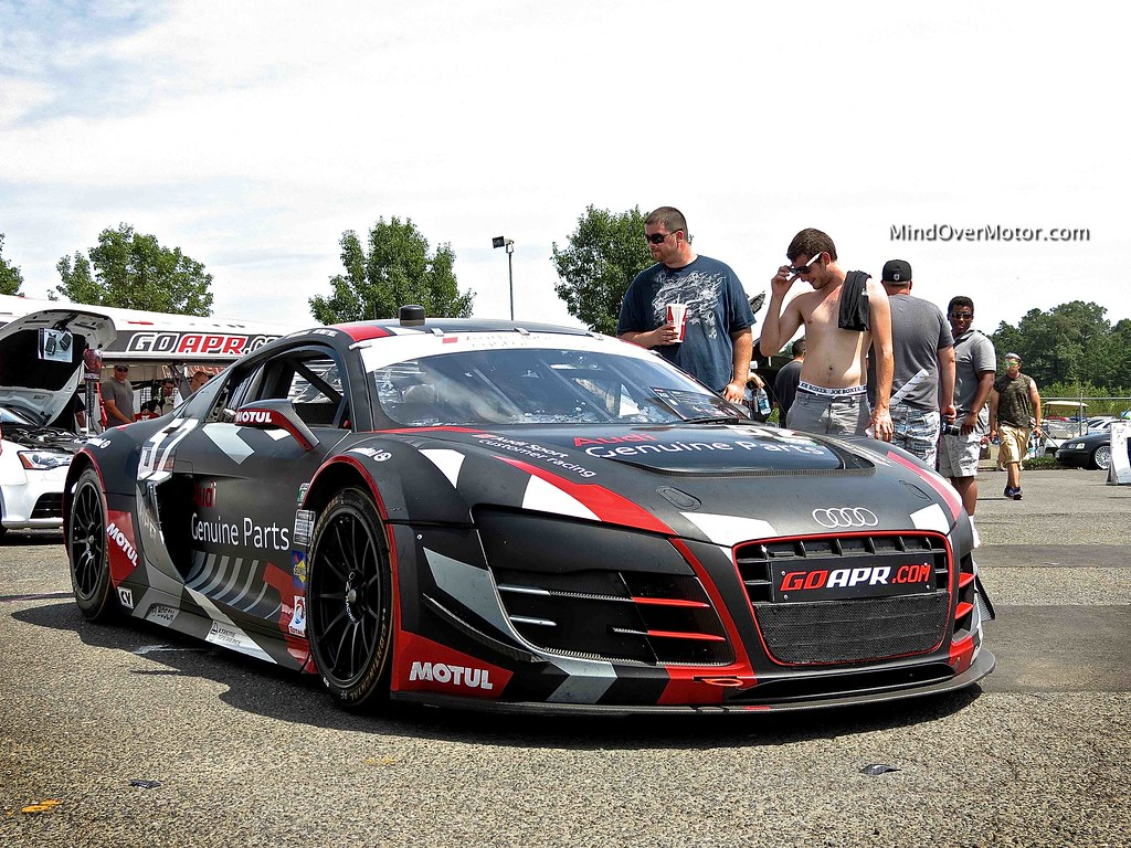APR Audi R8 LMS Race Car