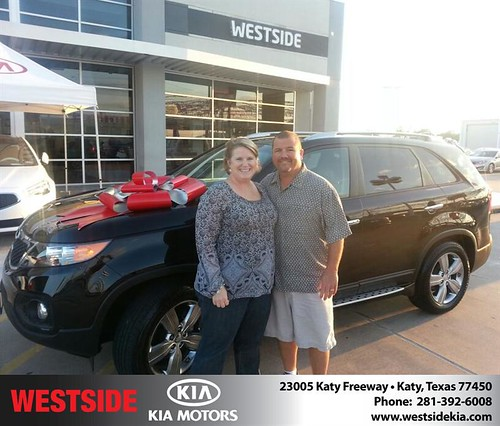 Thank you to Marina Guevara on your new 2012 Kia Sorento from Rubel Chowdhury and everyone at Westside Kia! by Westside KIA