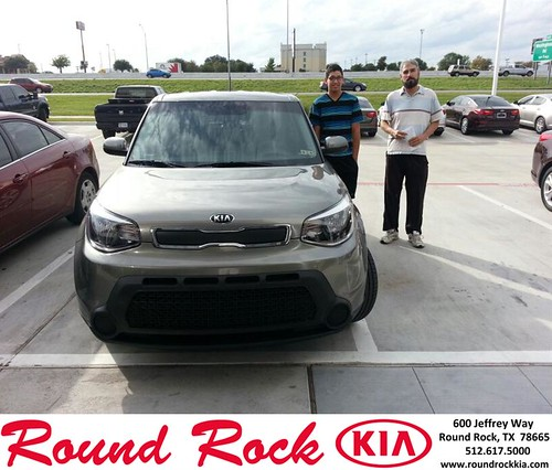 Thank you to Daniel Castro on your new 2014 #Kia #Soul from Michael Glass and everyone at Round Rock Kia! #RollingInStyle by RoundRockKia