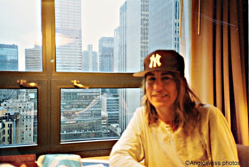 Me in hotel, New York