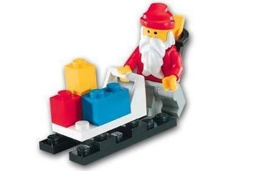 1807 Santa Claus and Sleigh