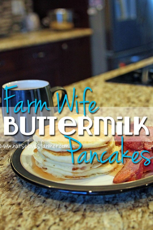 Farm Wife Buttermilk Pancakes