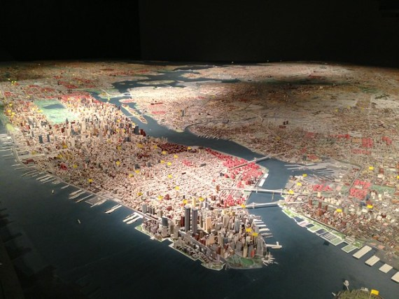 The Panorama of the City of New York
