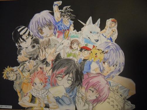 Popular Anime and Manga