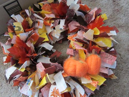 Pumpkin Wreath 1