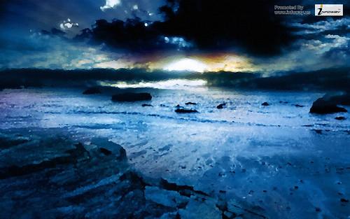 earth ocean hd wallpaper