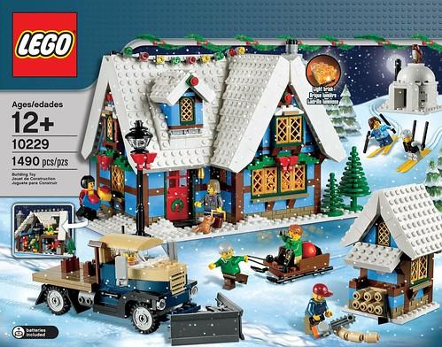 LEGO 10229 Winter Village Cottage 001