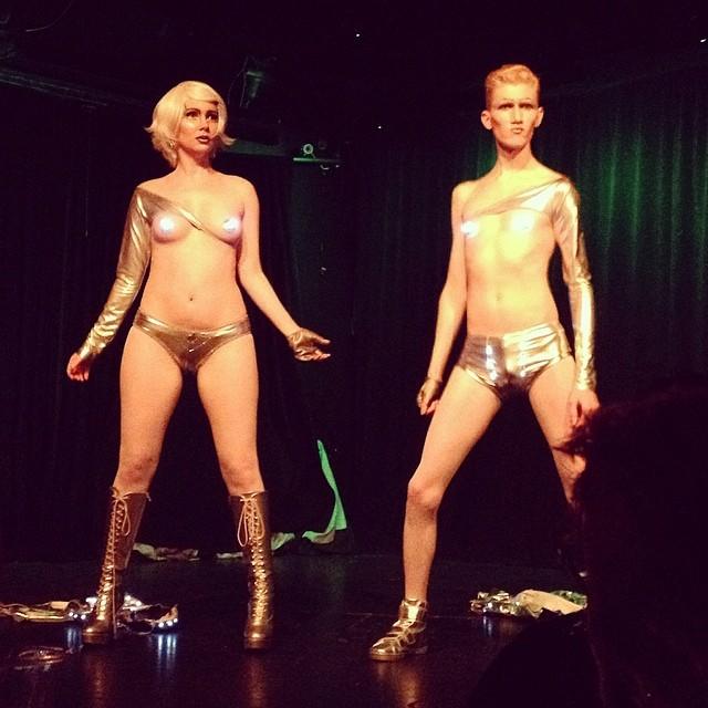 Sexbots #nerdlesquefest #burlesque